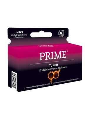 Prime Preservativos de Látex Turbo Caja 12 un