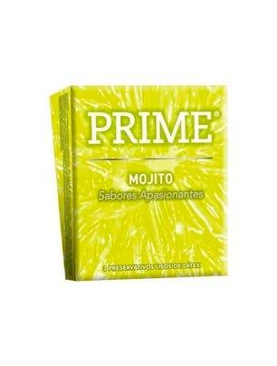 Prime Preservativos de Látex Mojito Caja 3 un