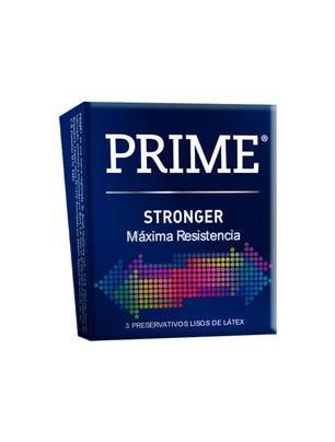 Prime Preservativos de Látex Stronger Caja 3 un