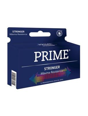 Prime Preservativos de Látex Stronger Maxima Resistencia Caja 12 un