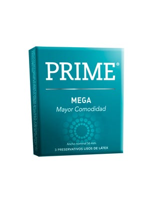 Prime Preservativos de Látex Mega Caja 6 un