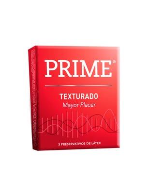 Prime Preservativos de Látex Texturado Caja 3 un