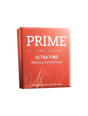 Prime Preservativos de Látex Ultra Fino Caja 3 un