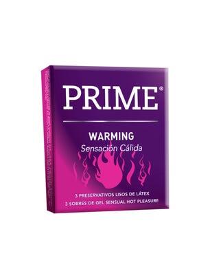 Prime Preservativos de Látex Warming Caja 3 un