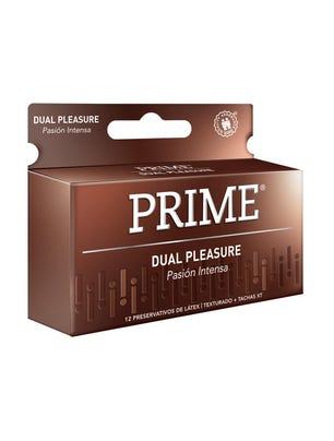 Prime Preservativos de Látex Dual Pleasure Caja 12 un
