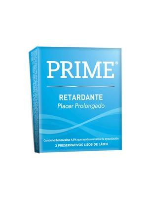 Prime Preservativos de Látex Retardante Climax Control Caja 3 un