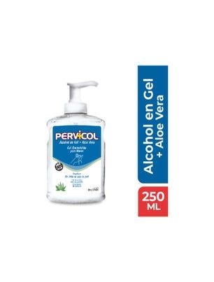 Alcohol en Gel Incoloro con Aloe Vera Bactericida para manos x 250 ml