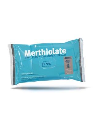 Merthiolate Toallitas Antibacteriales 40 un