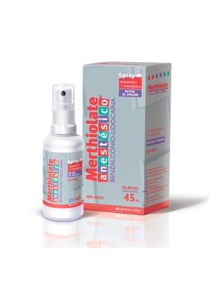 Merthiolate Solucion Anestesica 60 ml