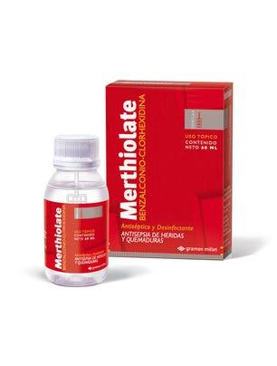 Merthiolate Espatula Solucion Antiseptica Incolora 60 ml