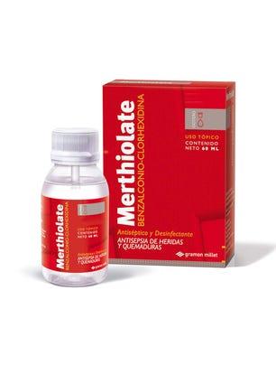 Merthiolate Gotero Solucion Antiseptica Incolora 60 ml