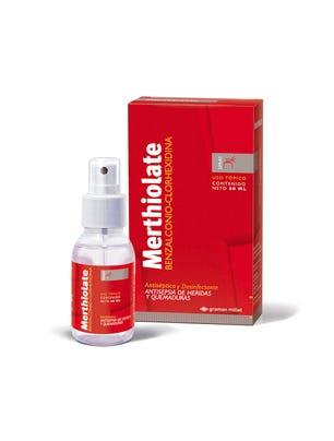 Merthiolate Antiseptico Incoloro en Spray 60 ml