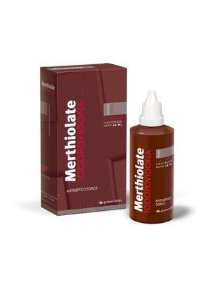 Merthiolate Iodopovidona Solucion Topica 60  ml