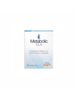 Suplemento Dietario Metabolic Cla 28 cápsulas blandas