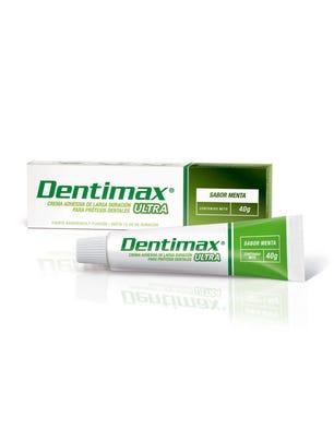 Dentimax Crema Adhesiva para Protesis Dental sabor Menta 40 gr