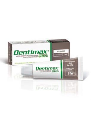 Dentimax Crema Adhesiva para Protesis sin Sabor 20 gr