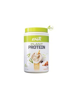 Suplemento Deportivo Plant Protein sabor Vainilla Caramel 375gr