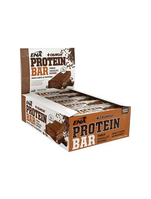 Suplemento Deportivo Barra Protein Sabor Chocolate Brownie 16 un