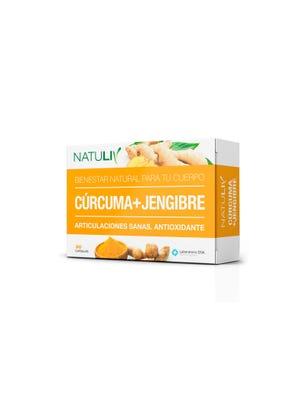 Suplemento Dietario Cúrcuma + Jengibre x 30 comprimidos