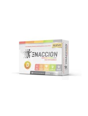 Suplemento Deportivo Enaccion Multivitaminico x 30 comprimidos