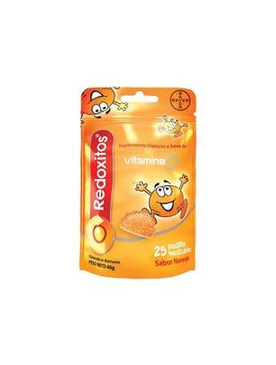 Redoxitos Vitamina C sabor Naranja 25 un