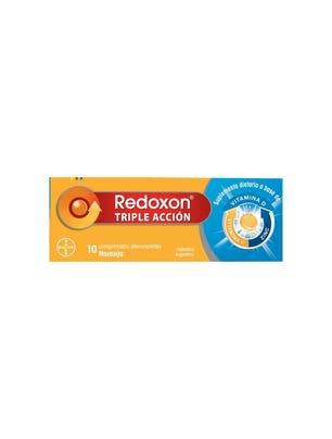 Redoxon Triple Acción Efervescente 10 comprimidos