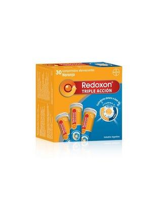 Redoxon Triple Acción Efervescente 3 tubos x 10 comp