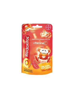 Redoxitos Vitamina C sabor Frutilla 25 un
