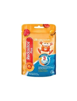Redoxitos Plus Vitamina D 25 Pastillas Masticables
