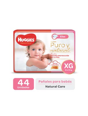 Pañal Natural Care ellas XG x 44