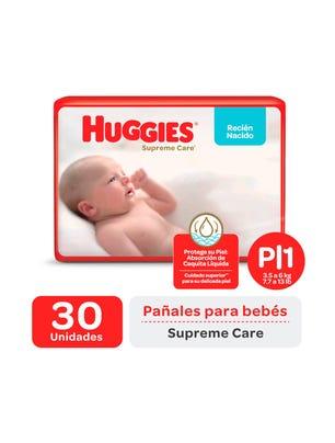 Pañales Huggies Supreme Care Unisex Px30u