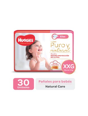 Pañal Natural Care ellas XGG x 30
