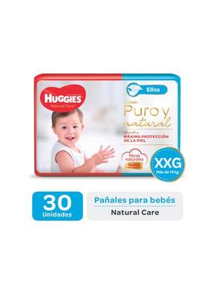 Pañal Natural Care ellos XXG x 30