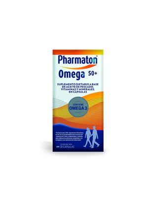 Pharmaton Omega 50+ Multivitamínico 30 cápsulas