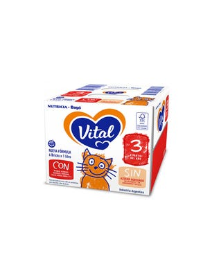 Vital 3 Brick 1000 ml 6 unidades