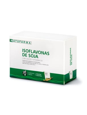 Isoflavonas de Soja 60 comprimidos