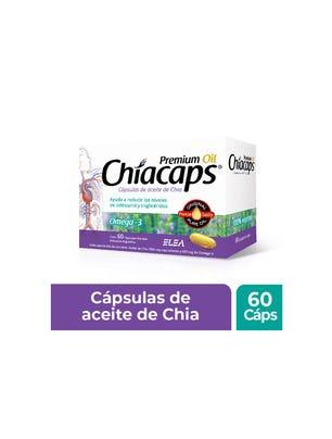 Suplemento Dietario Chiacaps Premiun Oil x 60 un