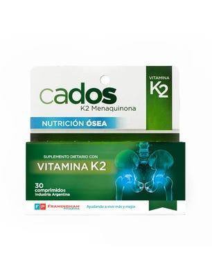 Suplemento Dietario Nutricion K2 30 comprimidos