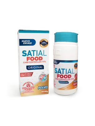 Satial Food Original Carb Controller 75% en polvo 50gr