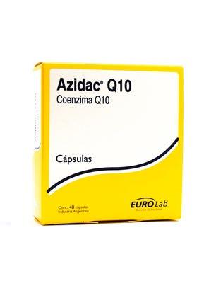 Azidac Suplemento Dietario Coenzima Q10 48 cps