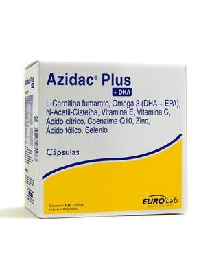 Azidac Suplemento Dietario Fertilidad Masculina 120 cps