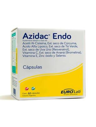 Azidac Suplemento Nutricional Natural 52 cps