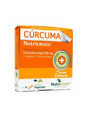 Nutriceutic Curcuma Suplemento Dietario 32 cps