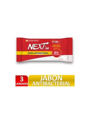 Jabón Antibacterial 3 x 90 gr