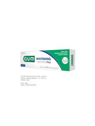 Gum Crema Dental Blanqueadora Flúor y Menta 60 gr