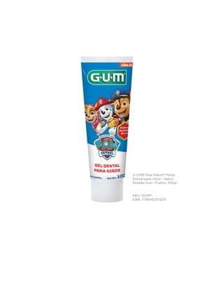Gum Pasta Dental Paw Patrol para Niños Sabor a Bubble Gum 100 gr