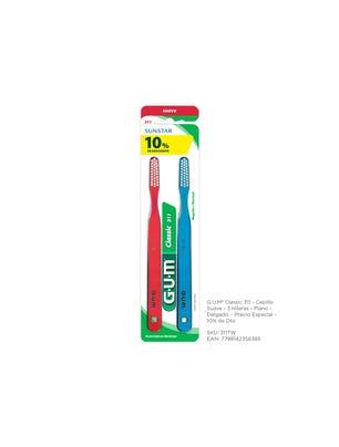 Gum Cepillo Dental Classic 311 Suave Delgado