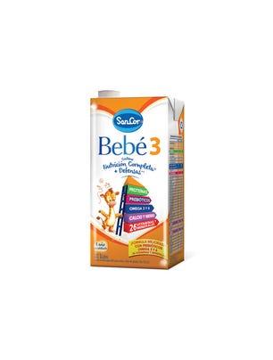 SanCor Bebé Leche Infantil Liquida Sabor Original 1l