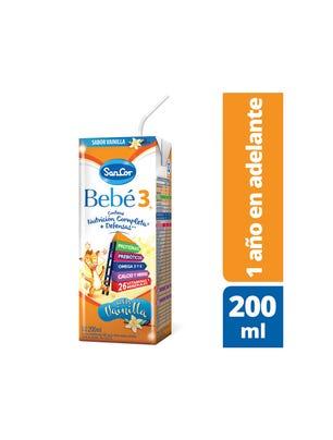 Leche Infantil Liquida  Sabor Vainilla 200 ml