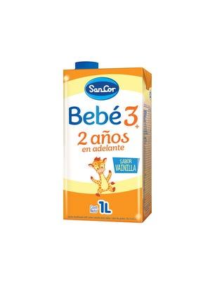 SanCor Bebé Leche Infantil Liquida Sabor Vainilla 1000 ml